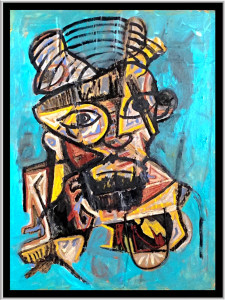 """Self Portrait 1"" by John Andro Avendano"