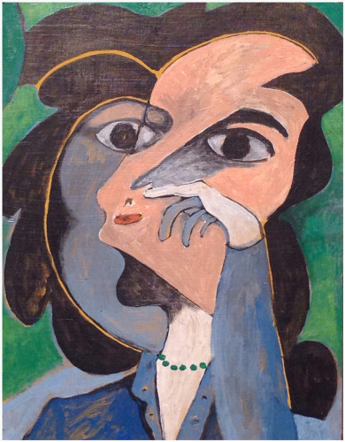 """Woman With Green Necklace"" by John Andro Avendaño"